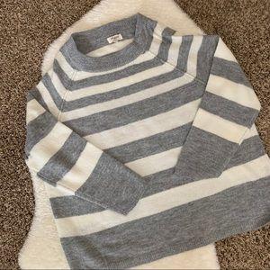 Umgee Oversized Striped Sweater